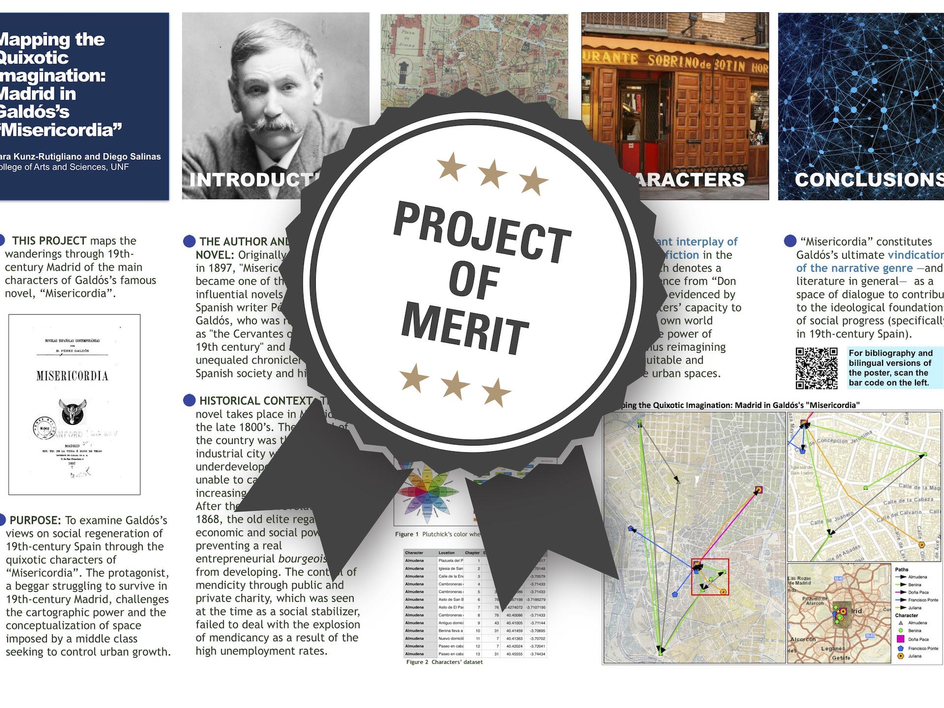 Mapping the Quixotic Imagination: Madrid in Galdos' Misericordia Project of Merit poster