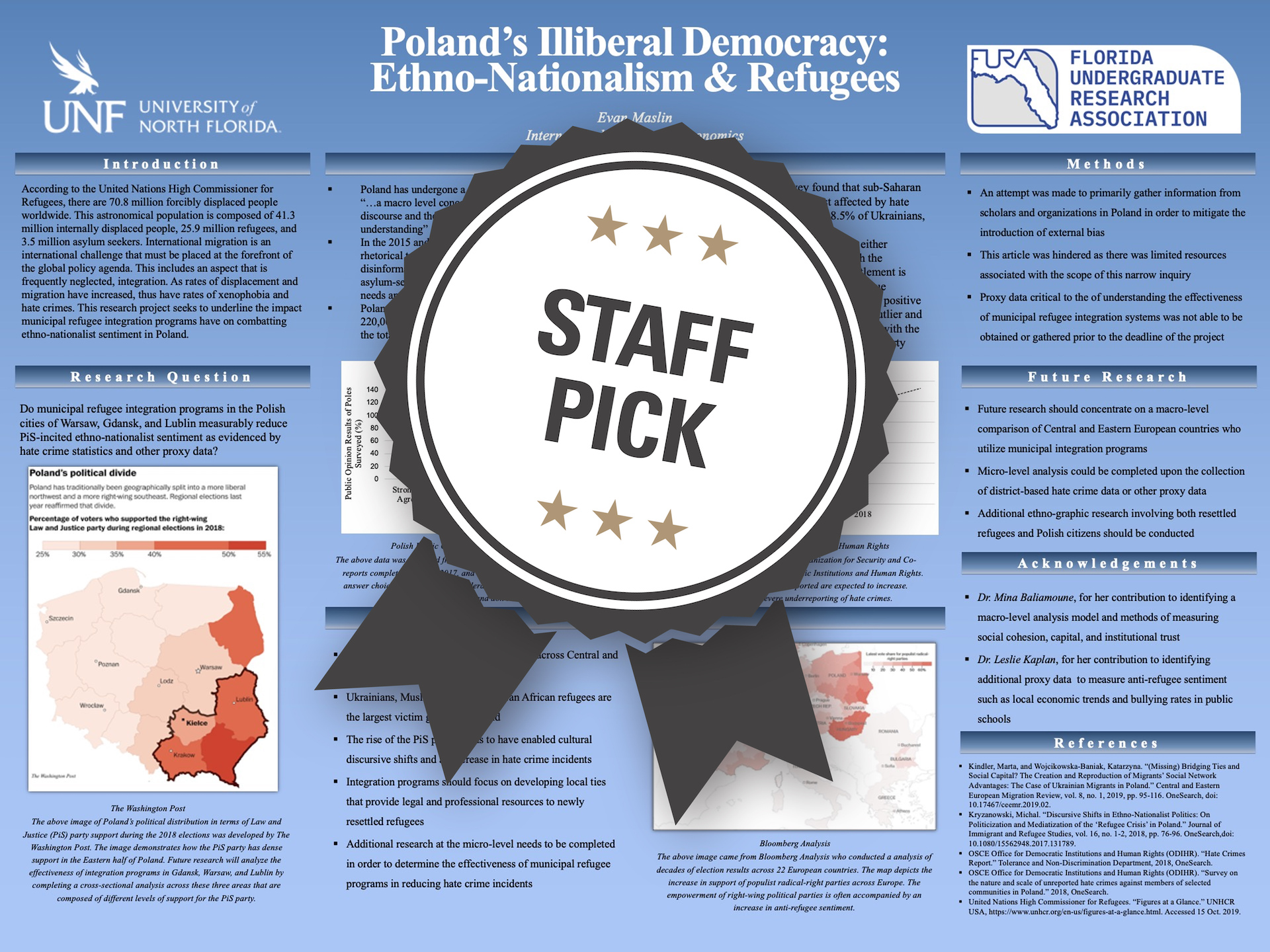 Poland's Illiberal Democracy: Ethno-Nationalism & Refugees Staff Pick poster
