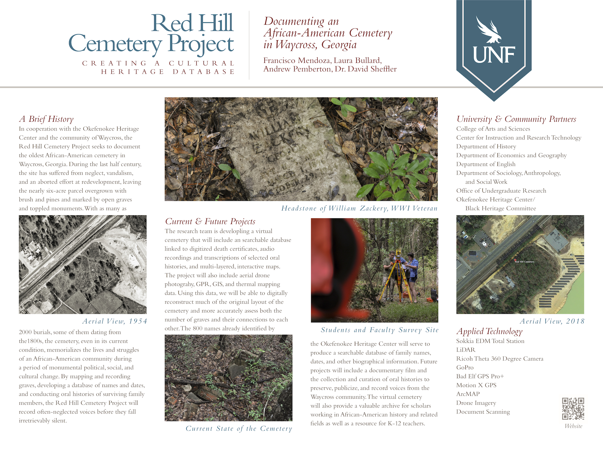 Red Hill Cemetery Project poster