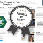 #SelfCare: Perspectives from Instagram Project of Merit poster