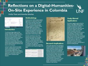 Reflections on a Digital-Humanities-On-Site Experience in Colombia poster