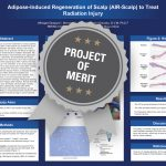 Adipose-Induced Regeneration of Scalp (AIR-Scalp) to Treat Radiation Injury Project of Merit poster