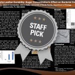 Kombucha Leather Durability: Sugar Concentration's Effect on Bacterial Cellulose Staff Pick poster