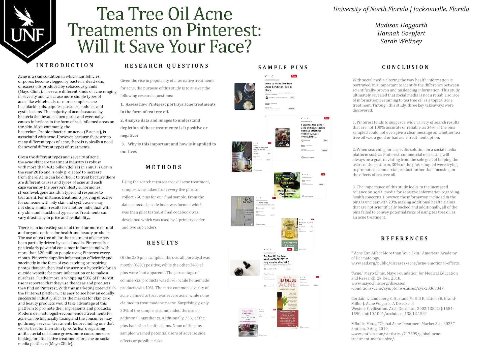 Tree Oil Acne Treatments on Pinterest: Will It Save Your Face? poster