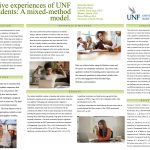 Positive experiences of UNF students: A mixed-method model poster