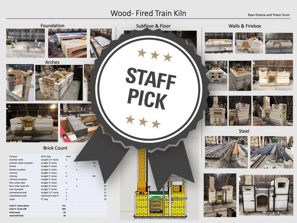 Wood-Fired Train Kiln Staff Pick poster