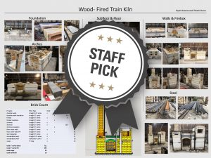 Wood-Fired Train Kiln Staff Pick poster