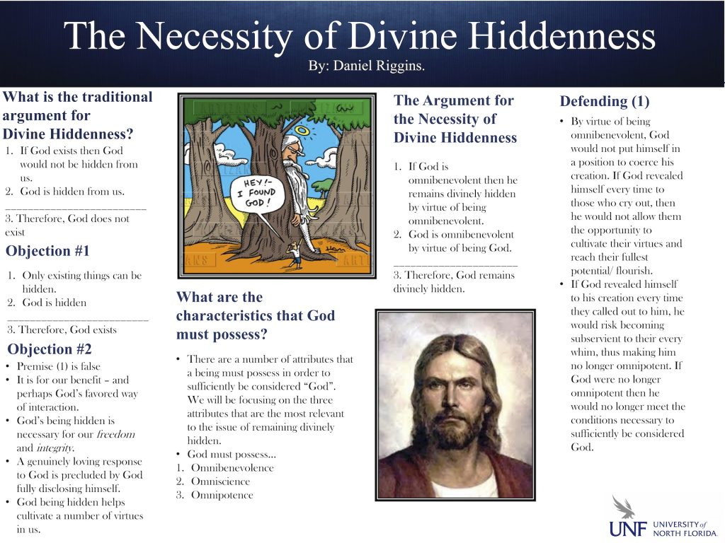 The Necessity of Divine Hiddenness poster
